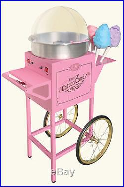 Nostalgia Electrics Vintage Collection Old Fashioned Cotton Candy Cart, CCM600