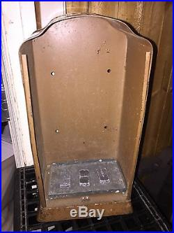 Old Vtg US AMI Mail U. S. Postage Metal Stamp Machine Dispenser Coin Made In USA