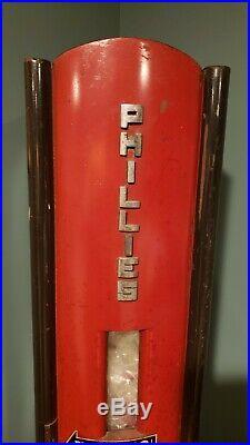 Original 1940's Phillies cigar vending machine
