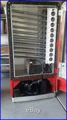 Original 1950s Coca Cola Vending Machine Vendo V110 Coke Cooler Vintage Restore