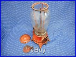 Original Advance Climax 10 Penny One Cent Vintage Peanut Vending Machine