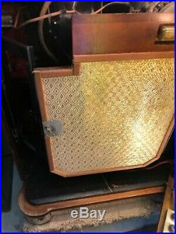 Original Vintage Antique Wurlitzer 1015 Bubbler Jukebox 78 rpm