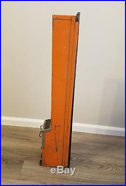 Original Vintage Hershey One Cent Dispenser Vending Machine