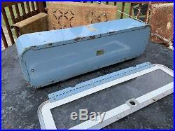 Original Vintage Vendo Hot Foods Machine Top Marquee Or Milk Machine Look