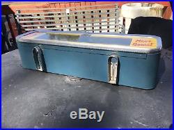 Original Vintage Vendo Milk Machine Top Marquee Look Rare Soda Machine VMC
