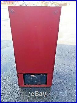 Original vintage Coca Cola bottled vending machine