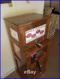 Penny Press Machine, Vintage Design, One-of-a-kind Souvenirs