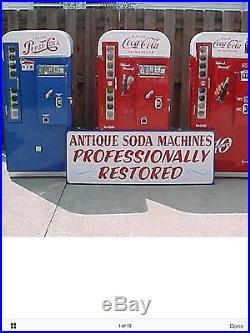 Pepsi VINTAGE, COKE, Pepsi, vendo, cavalier 60s Mancave Drpepper RESTORED Beer