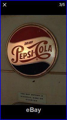 Pepsi Vending Machine Vintage