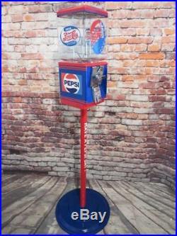 Pepsi cola vintage Northwestern gumball machine glass globe +stand gift man cave