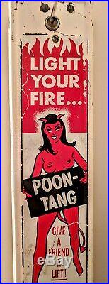 Poon-Tang Vintage Coin Operated Condom Vending Machine