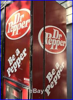 RAREVintage DR PEPPER Soda Vending Machine1970'sRestoreRestoration or Parts
