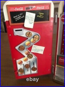 RARE USED Vintage COCA-COLA Vending Machine Multi-Action/Light Music Box NO CORD
