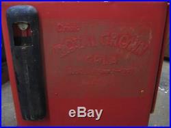 Rare Vintage 1950s Royal Crown Cola Soda Pop Machine
