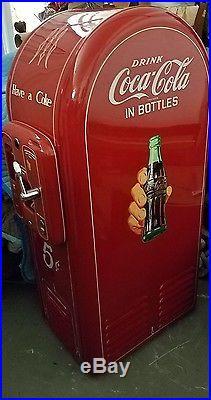 RARE VTG Genuine Coke Coca Cola Machine All Original, 5c