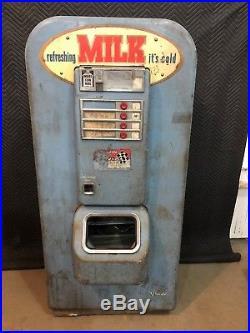 RARE Vintage 1950's Original Vendo 81 Milk Vending Coin Op Machine