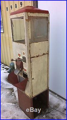 RARE Vintage 1950s Popcorn Warmer 10 Cent Vending Machine by Fawn Mfg, Iowa