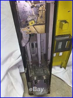 RARE Vintage 25 Cent Lehigh Cigarette Coin Op Side Coke Vending Machine Stoner