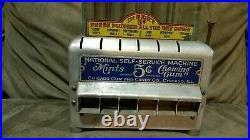 RARE Vintage Antique national self service 5c vending machine Chicago gum candy