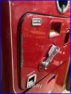 -RARE- Vintage Coca Cola VMC Vendorlator 27 Machine withCrate & Bottles