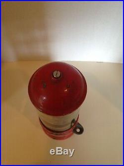 Rare1920 Vintage D. D. Lewis Kalamazoo Mich 1 Cent Penny Vendor Gumball Machine
