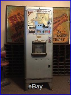 Rare Art Deco Stoner Coffee Hot Chocolate Vending Machine vintage coin operated