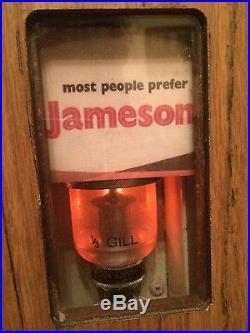 rare vintage 1970 s irish whisky john jameson whiskey vending