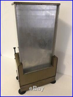 Rare Vintage Bill Fryer 5 Cent Gum Candy Coin-op Vending Machine Self Service