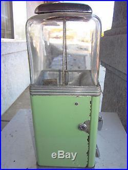 Rare Vintage Northwestern Deluxe Penny Nickle Porcelain Gum Ball Peanut Machine