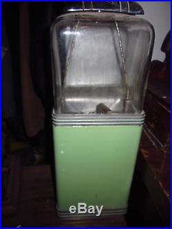 Rare Vintage Original Northwestern Porcelain Penny Nickle Peanut Gum Machine