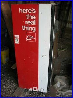 Restored Cavalier Coca Cola Coke Bottled Vending Machine Model CSS-8-64