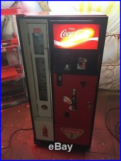 Restored. Vintage Vending Machine Coke Soda Bottle