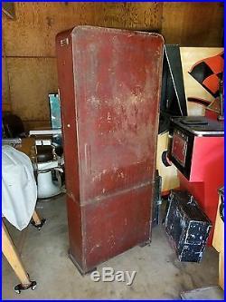 Rowe Cigarette Vending Machine Clock Dancing Coin Op Operated Vintage As Is
