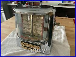 Seeburg Wall O Matic D-3WA Series Vintage Jukebox Wallbox Diner Drive in mancave