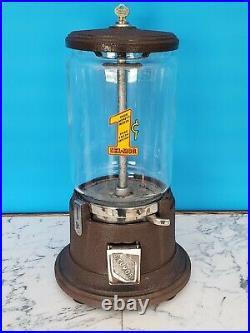 Sel-mor Model E Vintage Antique Bulk Vender (gumball) Machine
