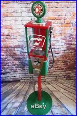 Sinclair dino vintage gumball machine bar home decor game room bar accessories