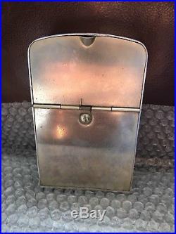 Smoke Shop Vintage Antique Cigarette Vending Machine Dispenser Lester Ware Sharp