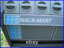 Snack Mart Tabletop Snacks Vending Machine Non Electric Vintage New