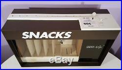 Snak-stix Snack Vending Machine Vintage 1986 Countertop Candy Grabbing Dispenser