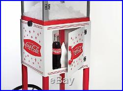 Snow Cone Cart Coca-Cola Vintage Shaved Ice Maker Stand Machine Collection Style