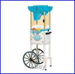 Snow Cone Maker Vintage Cart Machine Ice Sno Slushy Shaver Crusher Shaved Stand