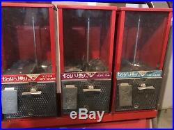 TOY N JOY Center Fruit Bubble Gum Machine Candy toys vintage dispenser