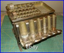 VINTAGE 1890 STAATS COIN TELLER REGISTER CHANGER CHANGER COUNTER Cash