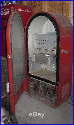 VINTAGE 1940's 50's orig. F. L Jacobs Coca Cola Machine Works