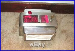 VINTAGE 1950's ASK SWAMI COIN OP OPERATED FORTUNE TELLER NAPKIN DISPENSER 1 CENT