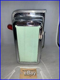 VINTAGE 1950's ASK SWAMI Fortune Teller Vending Machine NAPKIN DISPENSER