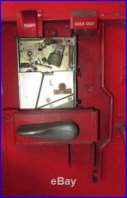 VINTAGE 1950's orig. Cavalier 51 Coca Cola Machine Works