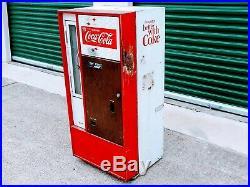 VINTAGE 1960's VENDO HA56C COCA COLA MACHINE RARE