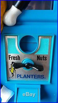 VINTAGE 1970s MR PEANUT PLANTERS GUMBALL / CANDY NUT/ VENDING MACHINE RARE