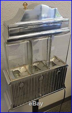 Vintage Antique 1947 Challenger Hot Nut Machine Coin Operated